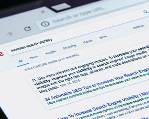 Como aumentar a visibilidade no Google